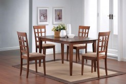 Coaster Leigh 5pc Wheat Back Dining Room Set Available Online in Dallas Fort Worth Texas