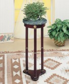 Coaster Dazillion Marble Plant Stand Available Online in Dallas Fort Worth Texas