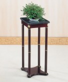 Coaster Taiwan Merlot Square Plant Stand Available Online in Dallas Fort Worth Texas