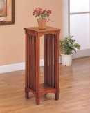 Coaster Mission Warm Brown Plant Stand Available Online in Dallas Fort Worth Texas