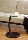 Coaster Sturdy Round Snack Table Available Online in Dallas Fort Worth Texas
