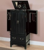 Coaster Wilson Jewelry Armoire Available Online in Dallas Fort Worth Texas