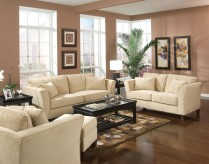 Park Place Cream Sofa & Loveseat Set Available Online in Dallas Fort Worth Texas