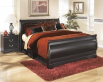 Huey Vineyard Full Sleigh Bed Available Online in Dallas Fort Worth Texas
