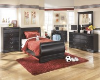 Huey Vineyard 5pc Twin Sleigh Bedroom Group Available Online in Dallas Fort Worth Texas