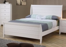 Selena Full Sleigh Bed Available Online in Dallas Fort Worth Texas