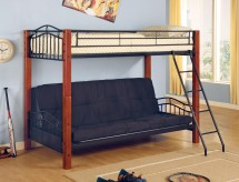 Coaster Haskell Twin/Futon Bunk Bed Available Online in Dallas Fort Worth Texas