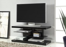 Powder Black 47in TV Console Available Online in Dallas Fort Worth Texas