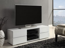 Coaster The Breiten White 55in TV Console Available Online in Dallas Fort Worth Texas